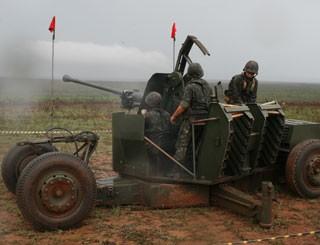 canhao (Foto: Brigada de Artilharia Antiaérea/Divulgação)