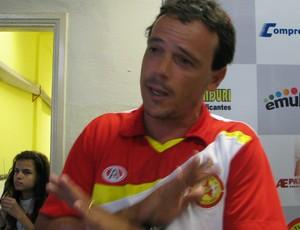 Fernando Diniz - Atlético Sorocaba (Foto: Rafaela Gonçalves / GLOBOESPORTE.COM)