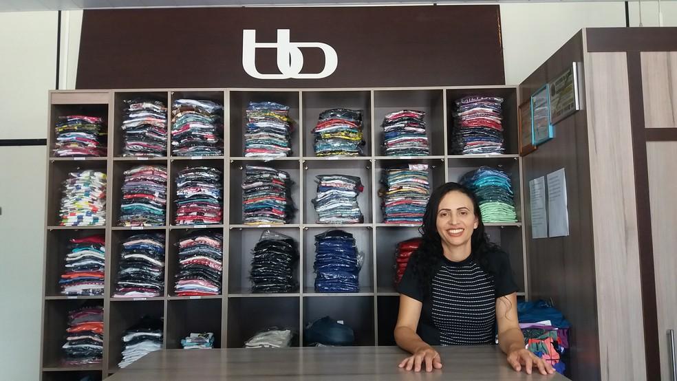 Empresário divide a rotina cuidando da filha especial (Foto: Fernanda Bonilha/G1)