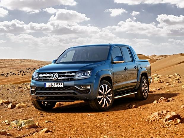 Volkswagen Amarok vai abandonar o motor 2.0 a diesel na Europa (Foto: Divulgação)
