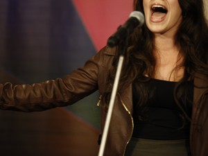 Seletiva Rio - cantora 2 (Foto: The Voice Brasil/TV Globo)