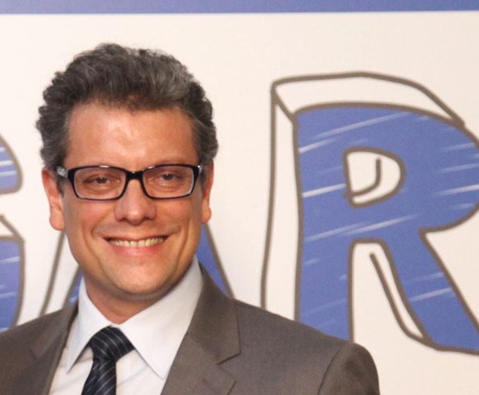 Marcello Airoldi na coletiva de 'Malhação - Seu Lugar no Mundo' (Foto: Fabiano Battaglin/Gshow)