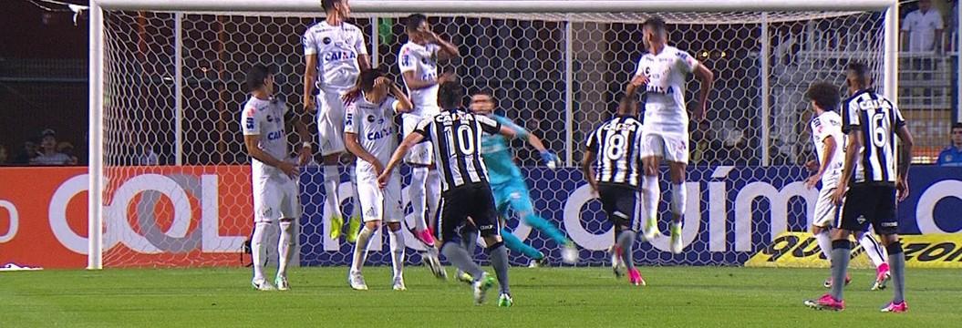 a0fe3b5b1a Santos x Botafogo - Campeonato Brasileiro 2017-2017 - globoesporte.com