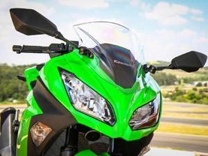 Kawasaki Ninja 300 (Foto: Rafael Munhoz/G1)