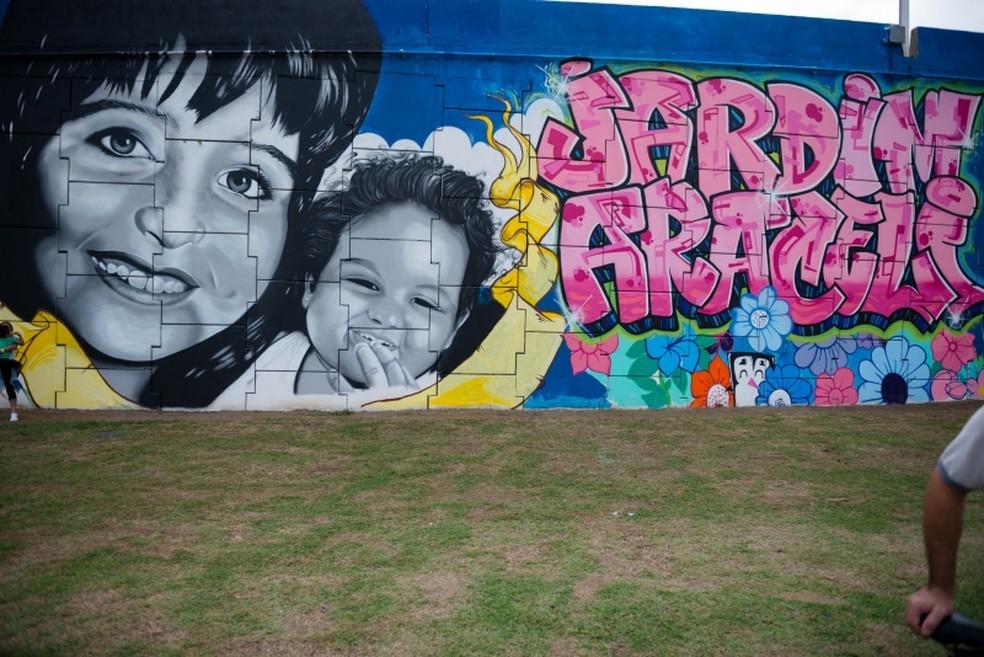 Memorial tem foto de Araceli e Fabiane  (Foto: Divulgação/ Prefeitura de Vitória)
