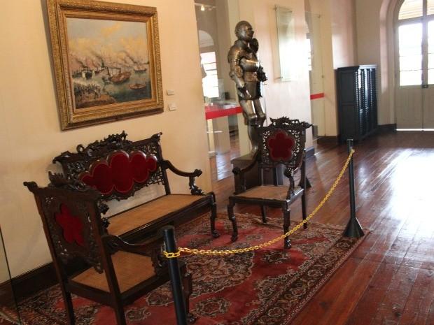 Museu Tiradentes, que retrata a história do Corpo Militar do Amazonas (Foto: Marcos Dantas / G1 AM)
