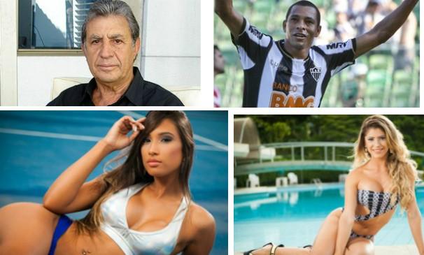 Piazza, Raul e Gilberto Silva estarão na entrega do Troféu Bola Cheia deste ano. (Foto: Montagem / Globoesporte.com)