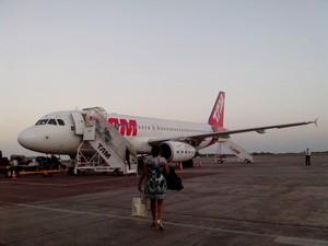 Entidades buscam voo internacional partindo do aeroporto de Macapá (Foto: John Pacheco/G1)