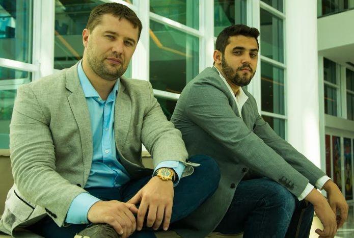 O investidor Olegas Orlovas e João Mendes Neto, um dos fundadores da ThinKkers e do Brazil StartUp Lab (Foto: Divulgação)