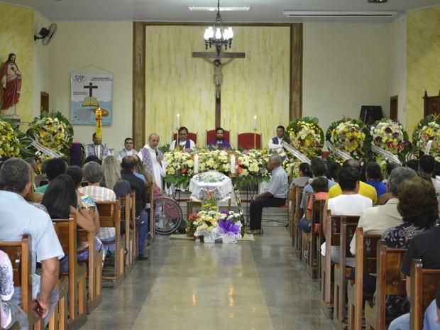 Corpo do padre Manoel Cirino de Souza é velado em Marília (Foto: Érica Montilha/Diocese de Marília)