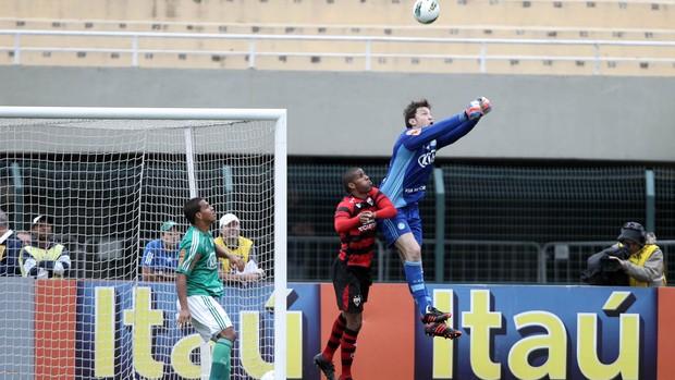 Raphael Alemão goleiro Palmeiras (Foto: Felipe Rau / Ag. Estado)