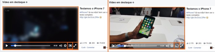 Controle o encerre a transmissão do vídeo do Facebook na TV (Foto: Reprodução/Barbara Mannara)