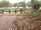 Obras de revitalização em bairro rural de Uberaba continuam paralisadas
