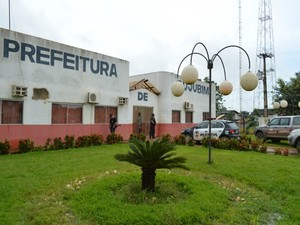 Prefeitura de Cujubim, RO (Foto: Eliete Marques/G1)