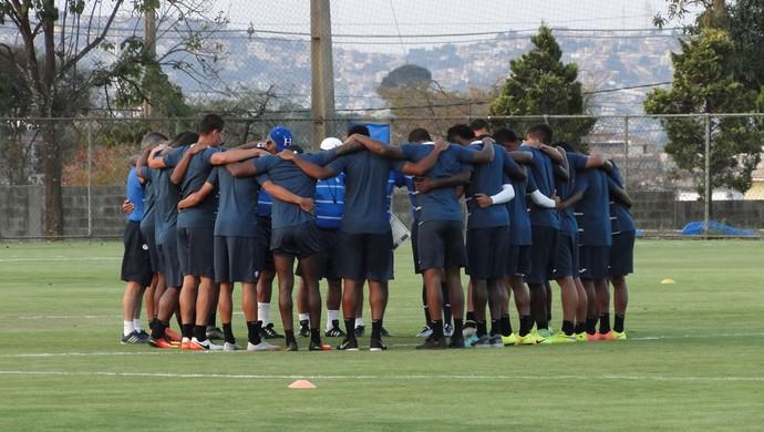 Honduras, no treino na Toca da Raposa (Foto: Fernando Martins Y Miguel)