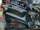 Ferido em colisão entre ônibus e carro morre no hospital em Muriaé