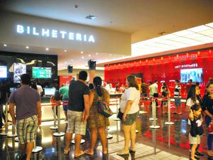 Cine Araújo foi inaugurado em dezembro de 2014 em Manaus; complexo tem seis salas (Foto: Divulgação/Via Norte Shopping)