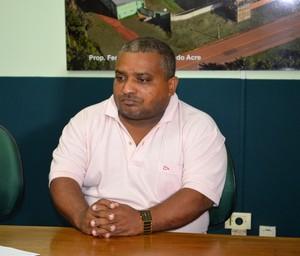 Secretário adjunto de Esporte do Acre, Petronilo Lopes, o Pelezinho (Foto: Duaine Rodrigues)