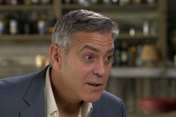 O ator George Clooney será papai (Foto: Reprodução)