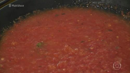 Carré à Parmegiana com Molho de Tomate Caseiro