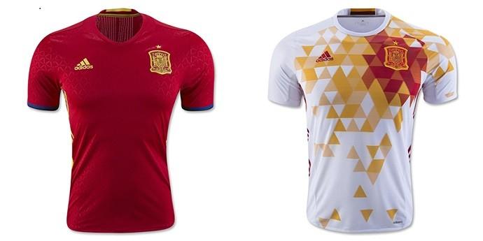 Camisas Eurocopa espanha