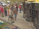 Excesso de velocidade pode ser causa de acidente em Goiana, PE
