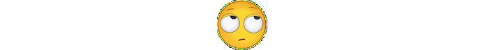 Emoji com rosto revirando olhos (Foto: Divulgação/Consórcio Unicode)