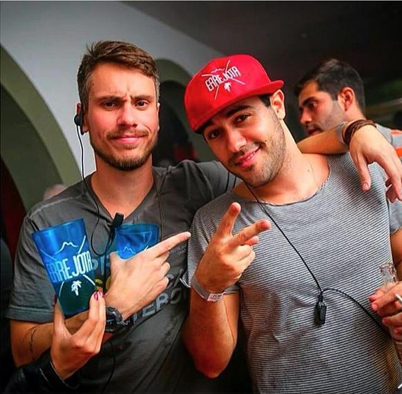 Raphael Sumar e amigo  (Foto: Reprodução/Instagram)