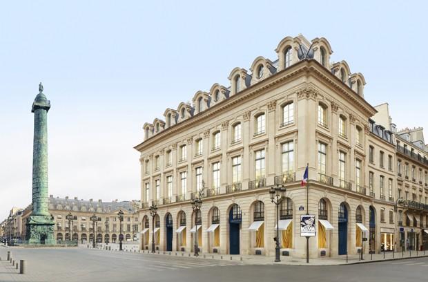 Frente da Louis Vuitton na Place Vendôme (Foto: Divulgação)
