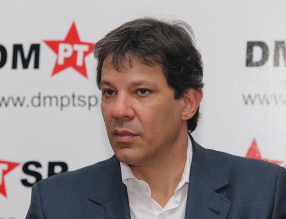 O candidato a reeleição a prefeitura de São Paulo Fernando Haddad (Foto:  Fábio Viera / FotoRua)