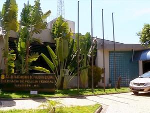 Polícia Federal Uberaba (Foto: Reprodução/ TV Integração)