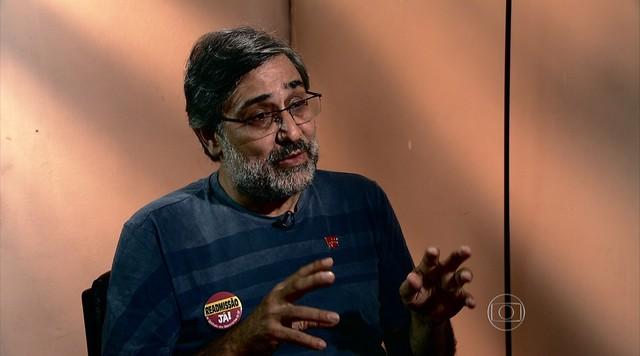 Bom Dia Brasil entrevista Mauro Iasi