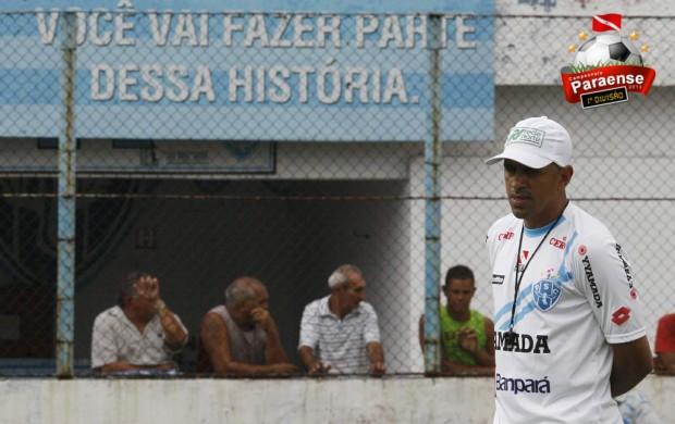 Lecheva Paysandu com selo do Parazão (Foto: Marcelo Seabra / O Liberal)