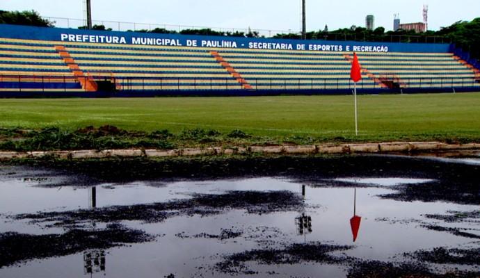 Paulínia, estádio (Foto: Vitor Freitas/ EPTV)