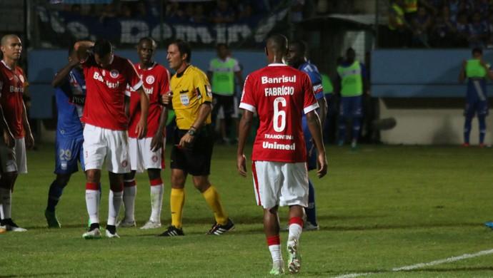 Emelec x Internacional Réver Internacional Libertadores (Foto: Diego Guichard/GloboEsporte.com)