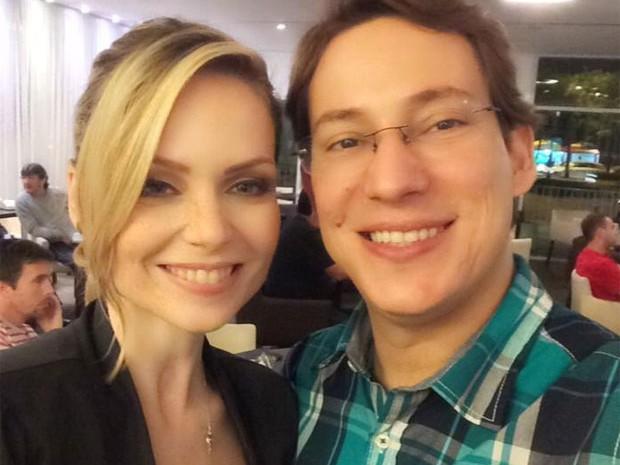 Bianca Toledo e Felipe G. Heiderich casaram em 2014 (Foto: Reprodução/Facebook)