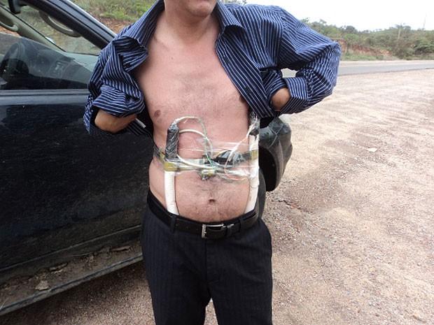 gerente (Foto: Polícia Militar)