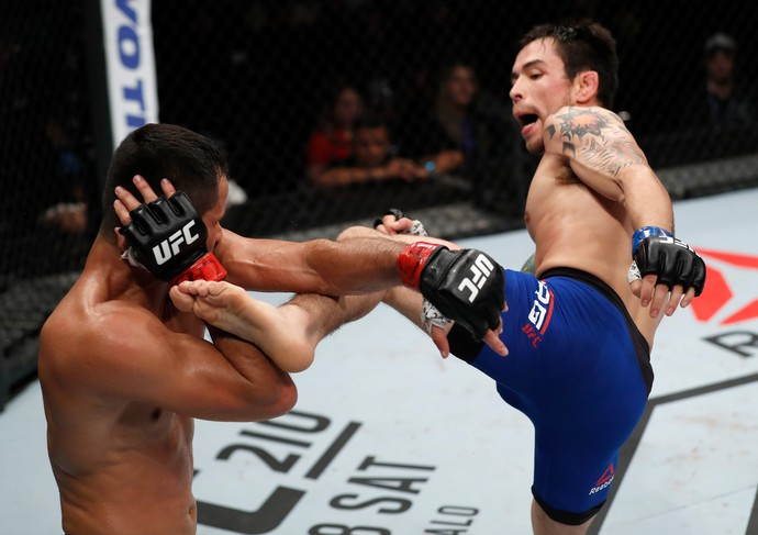 Ray Borg x Jussier Formiga UFC Fortaleza (Foto: Getty Images)