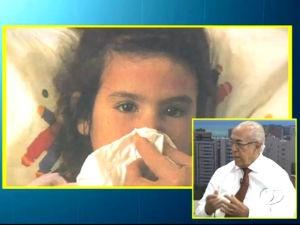 Dr. Milton Hênio fala sobre rinite alérgica  (Foto: Reprodução/TV Gazeta)