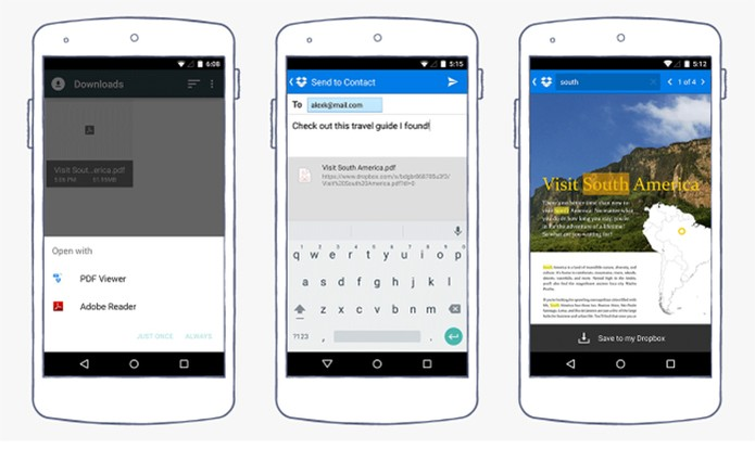 Dropbox anuncia update para Android com novos recursos (Foto: Divulgação/Dropbox)