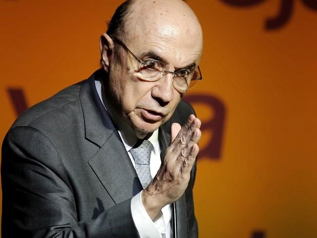 Ministro Meirelles participa de evento na manhã desta segunda-feira (23). (Foto: REUTERS/Nacho Doce)
