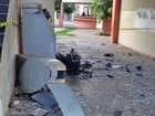 Bandidos explodem caixa eletrônico e agência na prefeitura de Picos