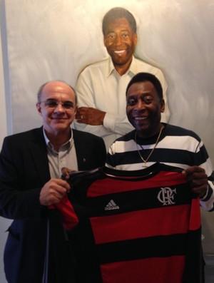 Eduardo Bandeira de Mello Pelé (Foto: Reprodução / Twitter)