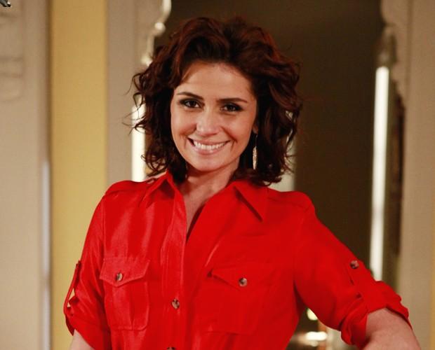 Giovanna Antonelli apostou nos tons mais escuros em Aquele Beijo (Foto: Gshow)