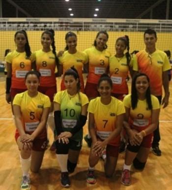 Seleção acreana de vôlei juvenil feminino 2016 (Foto: Divulgação/CBV)