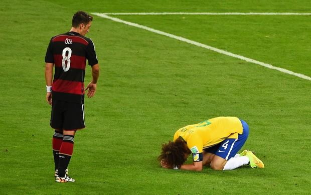 David Luiz Ozil Brasil x Alemanha