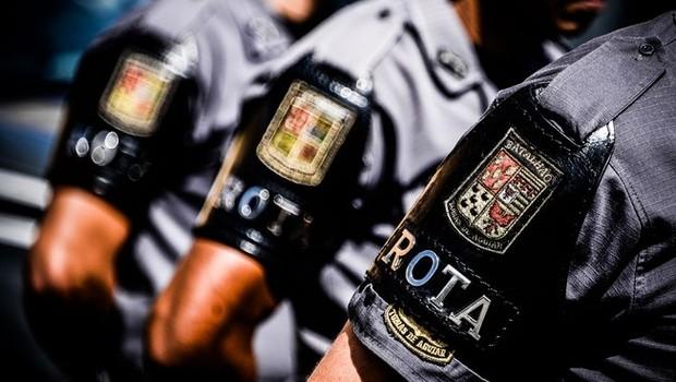 Símbolo da Rondas Ostensivas Tobias de Aguiar (Rota), o 1º Batalhão de Choque da Polícia Militar de São Paulo (Foto: Major PM Luis Augusto Pacheco Ambar)