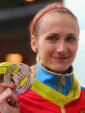 Ekaterina Poistogova atletismo Rússia (Foto: Alexander Hassenstein/Getty Images)