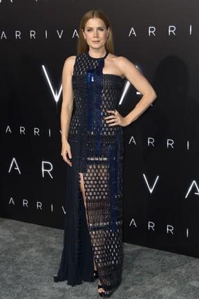 Amy Adams em première de filme em Westwood, na Califórnia, nos Estados Unidos (Foto: Valerie Macon/ AFP)