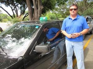 O administrador Antônio César Iglesias (Foto: Raquel Morais/G1)